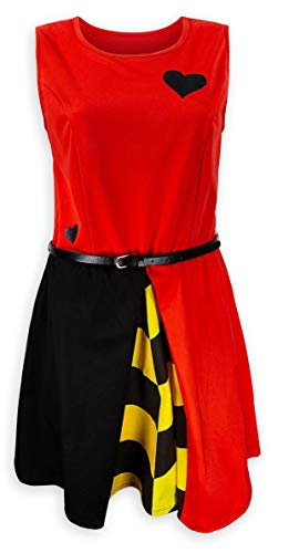 Disney Dress for Women Queen of Hearts Alice in Wonderland -