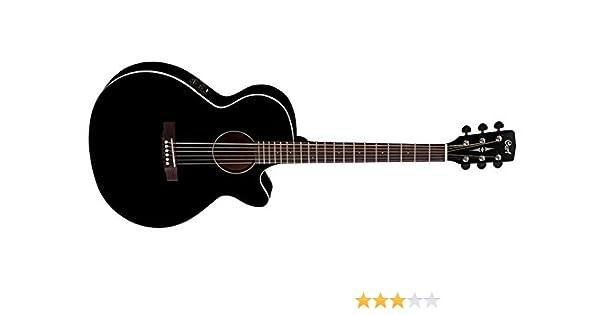 Cort SFX1F BK - Guitarra electroacústica (madera): Amazon.es ...