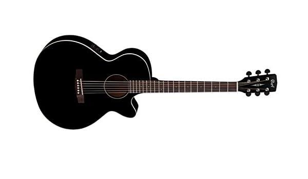 Cort SFX1F BK - Guitarra electroacústica (madera): Amazon.es: Instrumentos musicales