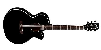 Cort SFX1F BK - Guitarra electroacústica (madera)