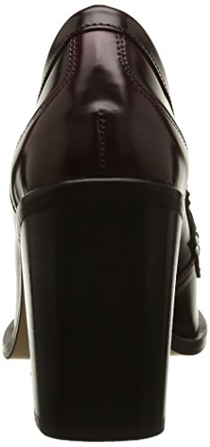 Mujer Steve Zapatos Burgundy YOYO Madden para xqIYEUwIr