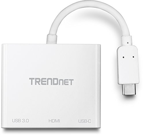 TRENDnet USB-C to HDMI with Power Delivery and USB 3.0 Port, 4K UHD Resolution, Flexible Connector, Easy Set-Up, Compact Design, TUC-HDMI3 by TRENDnet (Image #3)