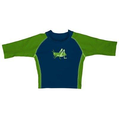 i play. Baby Boys' 3 Quarter Sleeve Navy Grasshopper Rashguard