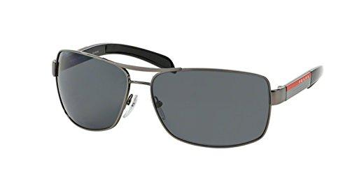 gunmetal frame/polarized gray lens) prada sport (linea rossa) ps54is 太阳镜太阳眼镜