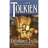 Unfinished Tales of Numenor and Middle-earth 1st (first) edition Text Only