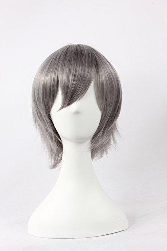 Jigoku Shoujo Cosplay Costumes (Coolsky Wigs Neon Genesis Evangelion,Light Katekyo Hitman Reborn,Jigoku Shoujo Mix Gray Hair Cosplay)