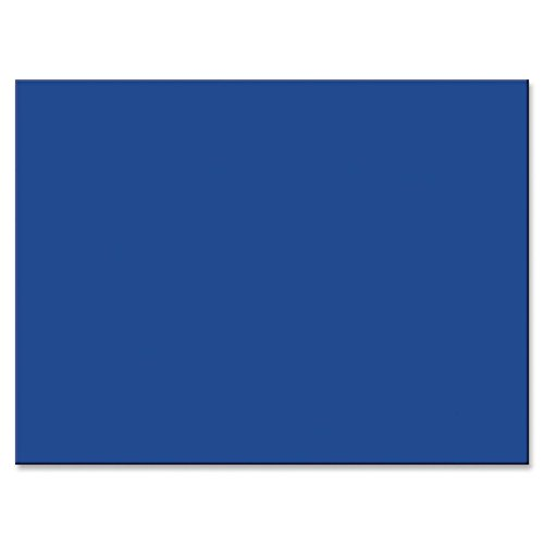 "Tru-Ray Heavyweight Construction Paper - 18"" x 24"" - Royal Blue"