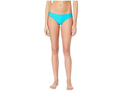 Body Glove Women's Smoothies Ruby Solid Bikini Bottom Swimsuit, Peacock, X-Small