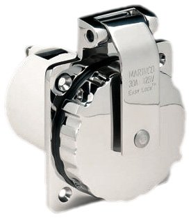 ParkPower 15A, 20A, 30A & 50A Power Inlets by Marinco
