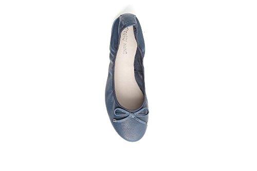 Blu Fiocco Donna 440235 Flats Ballerina con in Nana Blu Pretty Pelle z8wO5YOq