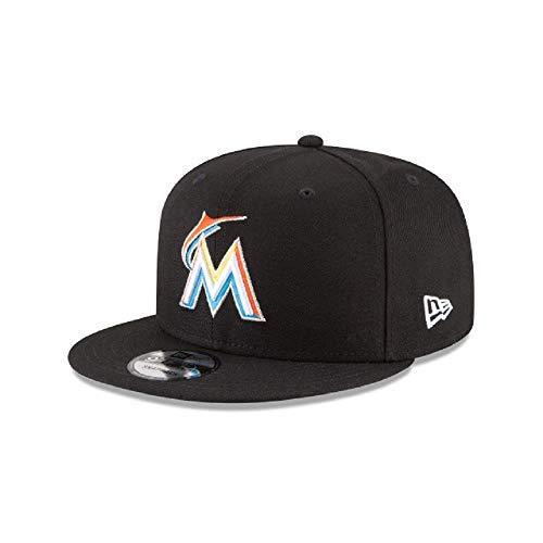 - New Era Miami Marlins MLB Basic Snapback Team Color 950 Adjustable Cap