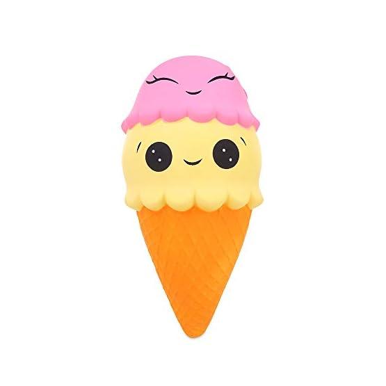 Ice Cream Cone | Slow Rising Jumbo Squishy 4