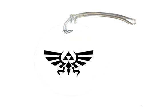 Legend Of Zelda Triforce Crest Art 4-inch Luggage/Bag Tag by MWCustoms