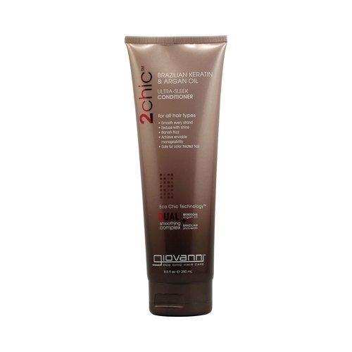 GIOVANNI HAIR CARE PRODUCTS COND,2CHIC,ULTRA SLEEK, 8.5 FZ