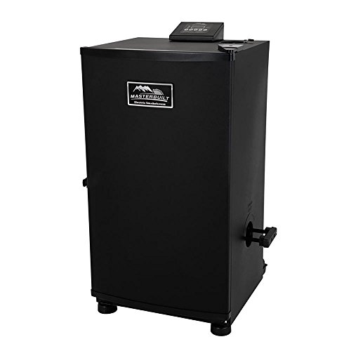 Masterbuilt 20070910 30-Inch Black Electric Digital Smoker, Top Controller