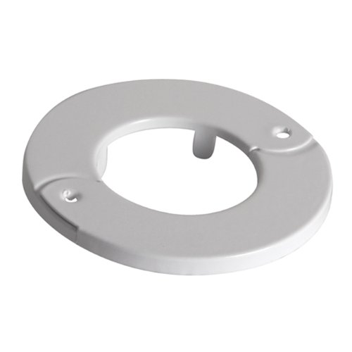 Chief Home Office Ceiling Shield Hinged Trim Ring for CMS Extension Columns Fixed CPA Columns White