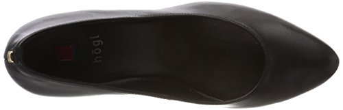 0100 Negro Tacón 10 schwarz Mujer De Högl 5 5400 Para Zapatos 47cSzqAx