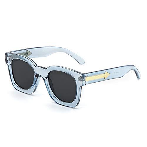transparentes NIFG Lunettes de lady soleil de soleil lunettes retro qBRtwB7r