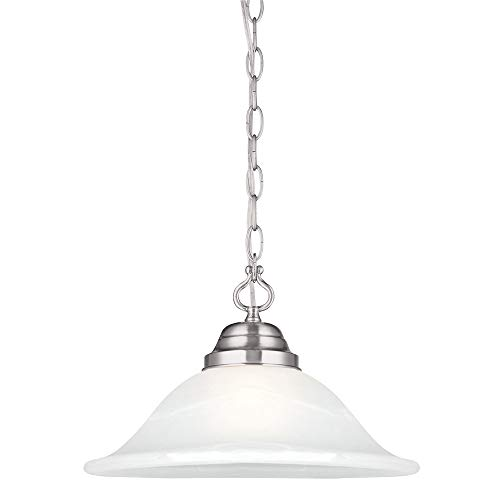Design House 517565 Millbridge Swag Light, Satin (Light Swag Pendant Chandelier)