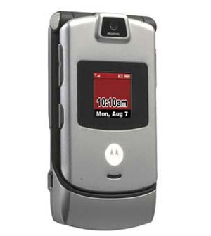 Motorola RAZR V3m Silver (Verizon Wireless) ()
