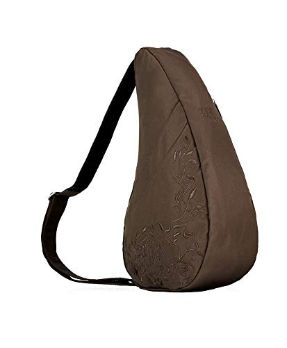 AmeriBag, Inc. Contemporary I Love My Life Healthy Back Bag? - Small Chocolate Microfiber
