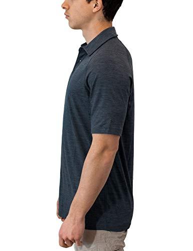 a2c32b10 WoolX Summit - Men's Merino Wool Polo Shirt - Short Sleeve - Lightweight -  Breathable