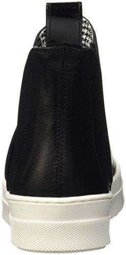 Pollini Vrouwen Sa15063g12td High-top Zwart (zwart / Wit)