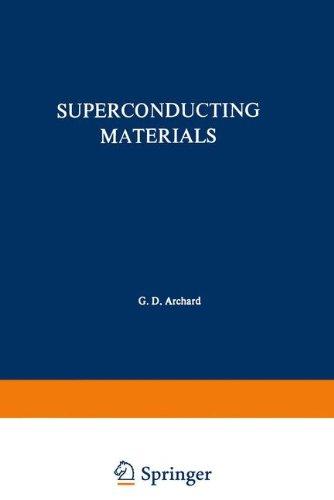 Superconducting Materials (The International Cryogenics Monograph Series)