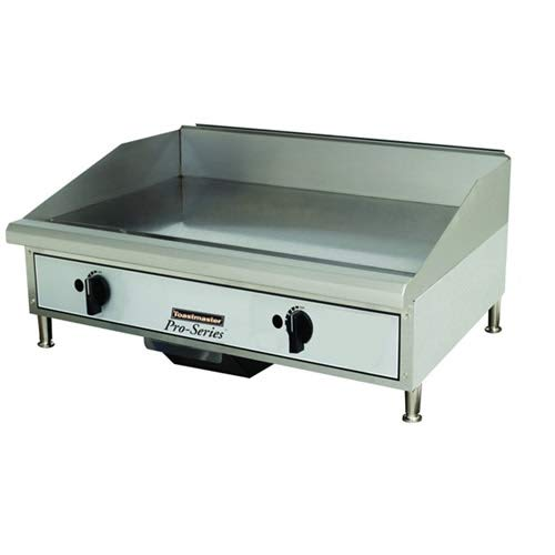- Toastmaster TMGM24 24 Commercial Gas Countertop Griddle - Manual Controls