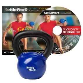 KettleWorX Kick Start Kit With 20 lb Kettlebell