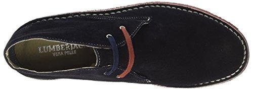Gable Blue Uomo Blu Brick Alto a Lumberjack Collo Sneaker Navy OdwqZ6