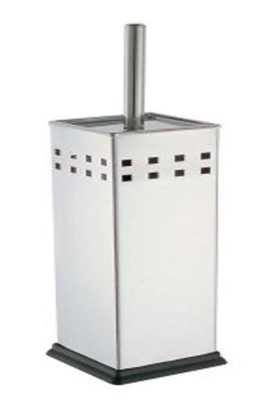 S/s Toilet Brush Holder Square