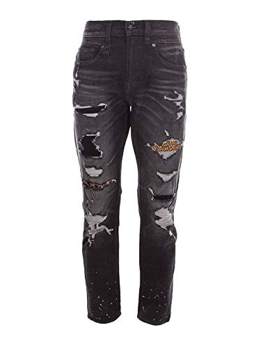Luxury Fashion | R13 Mens Jeans Summer Grey for sale  Delivered anywhere in USA