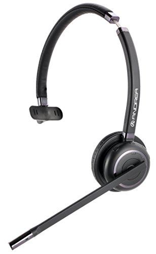 Andrea Communications C1-1030600-1 Wnc-2100 Wireless Noise-Canceling Bluetooth Mono Headset