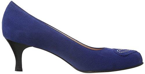 Toe WoMen Blue Heels Closed Diavolezza Diana Blue wtqFPtd