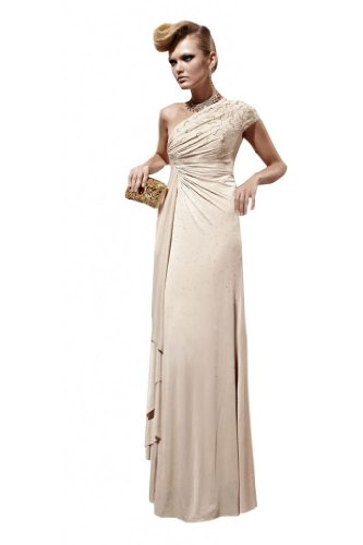 Passat Women's Homecoming Dresses Long Sleeve Size US8 Color Champagne