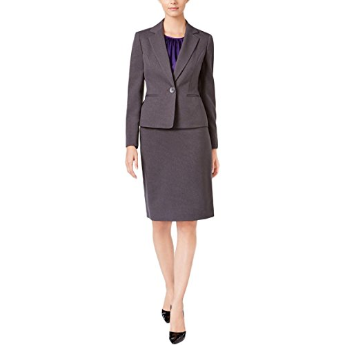 Le-Suit-Womens-1-Button-Jacket-Skirt-Suit-WCami