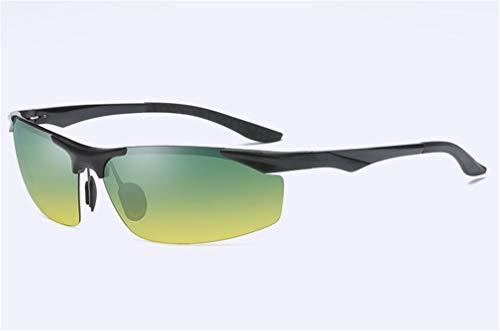 Drive conducción Negro Aluminium XIYANG Diurna de Gafas Nocturna Polarized y Sol Men's Black de Magnesium Espejo qf0vq