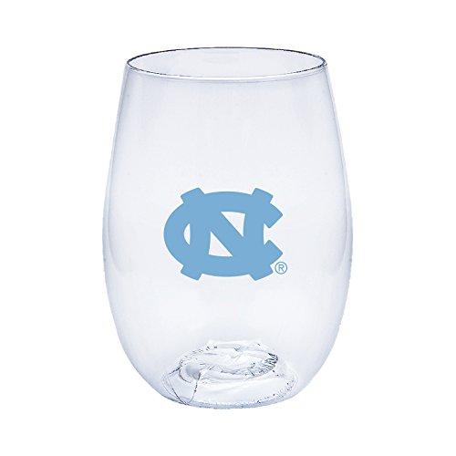 unc wine glass - 2