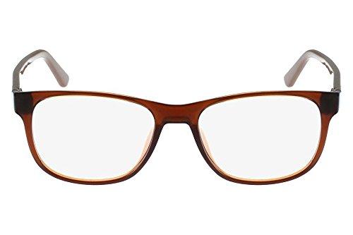 b75846ea32643 Óculos de Grau Lacoste L2743 210 52 Marrom