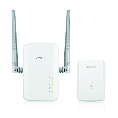 Zyxel Powerline AC900,1000 Mbps Wireless Extender [PLA5236KIT] by ZyXEL