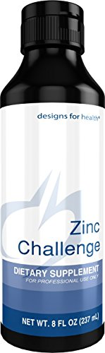 Designs for Health - Zinc Challenge - 8mg Zinc Sulfate for Immune Support, 8 Fl Oz, 24 Servings