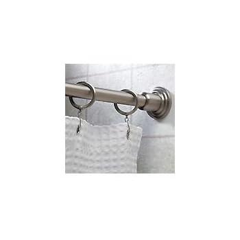 Gatco 801 1 Inch By 6 Foot Shower Rod, Satin Nickel