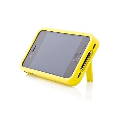 Amazon.com: ikit brillo flip carcasa rígida para iPhone 4 ...