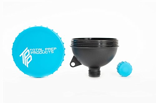 Total Prep Products Portable Protein Funnel BPA Free Non Toxic 3 Pack Multiple Colors by Total Prep Products (Image #8)