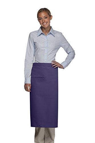 Averill's Sharper Uniforms Inset One Pocket Bistro Apron 1 inset pocket (Set of 6) ()