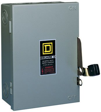 Square D Indoor Fusible Safety Switch 30 Amp Boxed