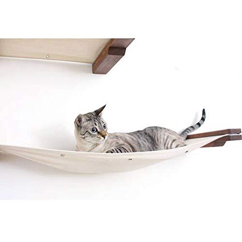 CatastrophiCreations Cat Mod - Estantería para Tumbona de Pared para Gatos, English Chestnut/Natural