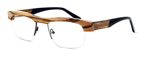 Specs of Wood Designer Wooden Eyeglasses Made in the USA