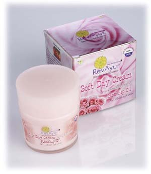 Amazon.com : RevAyur Soft Day Cream Enriched with Rosehip Oil (Known to soothe, heal, reju... : Body Oils : Beauty